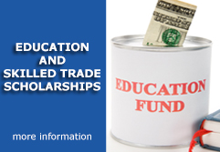 Education and Skilled Trade Scholarships